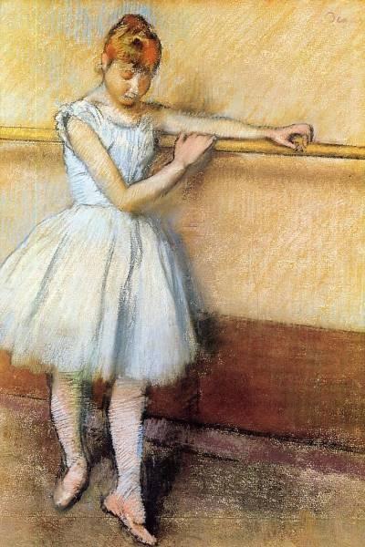 Dancer at the Barre Edgar Degas circa 1880